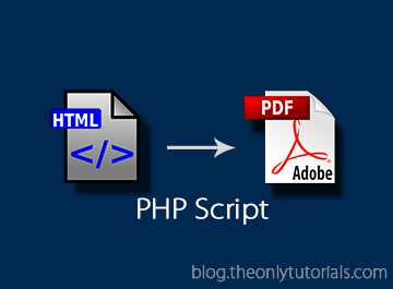 HTML form to PDF file using PHP and MPDF! – TheOnlyTutorials com