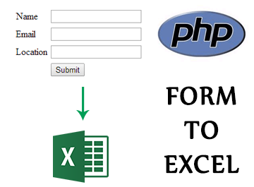 Export form data to Excel (CSV) in PHP – TheOnlyTutorials com